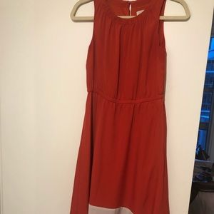 Loft high-low maxi dress, size 2P